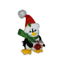 Annalee Dolls 2021 Christmas 4in Evergreen Penguin Plush New with Tag