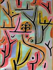 """Paul Klee Triumph of a degenerate Repro Quality Hand Painted Oil Painting 30x40"""""""