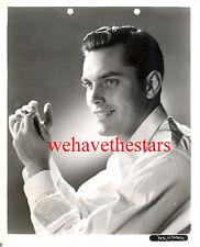 Vintage Jeffrey Hunter QUITE HANDSOME SEXY '53 SAILOR Publicity Portrait