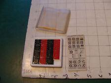 """vintage Original puzzle: plas-trix """"15"""" puzzle w fingertip grip back"""