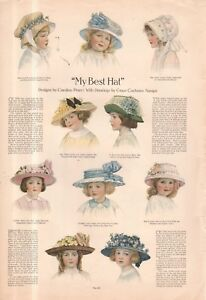 1911 Original Fashion Print - Best hats; Girdle and fancy bags