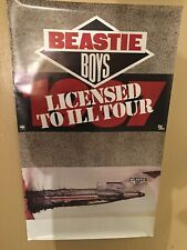 Beastie Boys 1987 Licensed To Ill Bundle Rare All Original