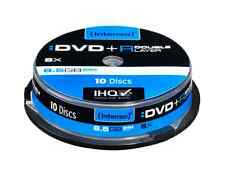 10 INTENSO DVD+R Double Layer, 8.5GB 8x Speed in Spindel