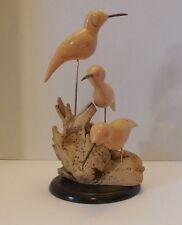 William J Watson Wooden Sculpture Sandpipers