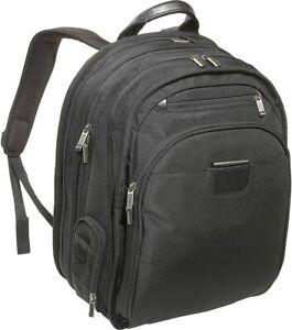 NEW Briggs & Riley Medium Executive Clamshell Backpack KPC308 BLACK