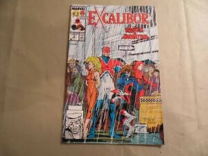 Excalibur #8 (Marvel 1989) Free Domestic Shipping