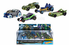 SFK Hot Wheels DC Comics Batman and Rogues Gallery Vehicle, 5 Pack
