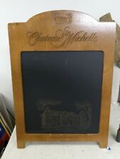 Vintage - Double Sided Chalkboard Sidewalk Sign- Chateau Ste Michelle Winery