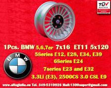 1 Cerchio BMW Alpine Style 7x16 ET11 5x120 5 6 7er Wheel Felge Llanta Jante TÜV