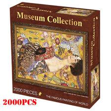 JIGSAW musume Eurographics Puzzle 2000 Pcs Lady with Fan Gustav Klimt gift