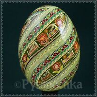 Real Ukrainian Pysanka Goose Pysanky Best by Halyna, Easter Egg High Quality