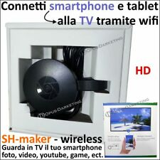 CHIAVETTA SH MAKER HDMI 1080p TV WIRELESS WIFI PER MODELLI ASUS ZENPAD
