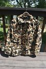 4 piece 10X brand heavy CAMO insulated jacket pants hat LARGE Regular Gore-Tex