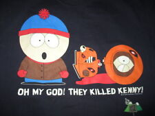 "1997 Trey Parker's SOUTH PARK ""Oh My God! They Killed Kenny!"" (XL) T-Shirt"
