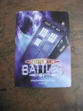 DOCTOR WHO BATTLES IN TIME TRADING CARDS SUPER RARE CHOOSE FROM LIST
