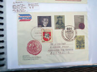 LITHUANIA AIRMAIL 1993 VYTAUTUS FDC  POSTALLY USED  TO AUSTRALIA