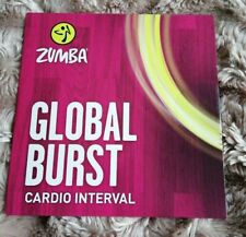 ZUMBA Fitness Global Burst Cardio Interval DVD 29 MINUTES - NEW & SEALED