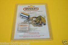 FREE UK Post - Genuine Bradley Double Lock Hitch Lock & 4 Keys - Trailer