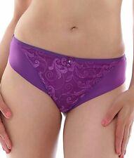 Fantasie Allegra 9097 Brazilian Thong Panty Sizes XL Purple