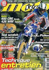 Moto Vertes   n°336   Avril 2002 : Technique et entretien
