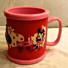 MINNIE MOUSE Disney Parks Pink Coffee Mug Disney World