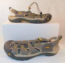 KEEN Men's Newport H2 Sandal 1008399 Raven Aluminum Steel Grey SIZE 11