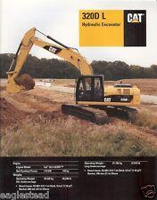 Equipment Brochure - Caterpillar - 320D L - Hydraulic Excavator - 2010 (E1751)