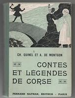 Contes et Légendes de CORSE.  Nathan 1946. Premier tirage. TBE