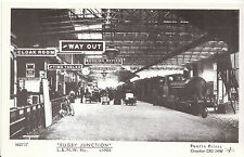 "Warwickshire Postcard - ""Rugby Junction"" Railway Station - L.&.N.W c1904 - V2241"