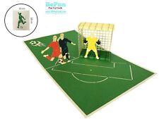 Soccer Football Card 3D Pop Up Greeting Birthday Love Sport Team Player Dad Men