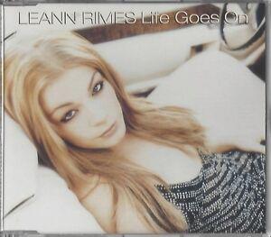 LEANN RIMES / LIFE GOES ON * NEW  MAXI-CD 2002 * NEU *
