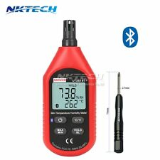 NKTECH UT333BT+ Bluetooth LCD Digital Temperature Humidity Meter Thermometer ND