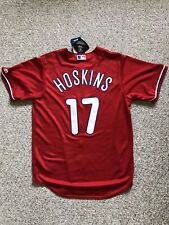Rhys Hoskins #17 Philadelphia Philles Red Jersey-New w/tags-M