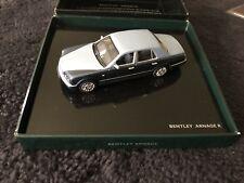 Bentley Arnage R 2005-09 Blue Minichamps Official 1:43 Model BL385 NOS OEM