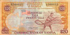Samoa  $20  ND. 2002  P 35a  Series A  Circulated Banknote SSCV