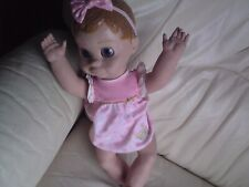 Luvabella Interactive Talking Baby Doll with Expressions & Movement,USED,