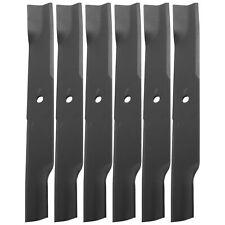 "6 Oem High Lift Spk Solid Blades Exmark Lazer Z Xp Xs Ranger w/ 60"" 103-1580-S"