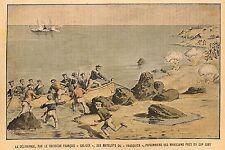MAROC CAP JUBY DELIVRANCE MATELOTS FRASQUITA JACQUES LEBAUDY ILLUSTRATION 1903