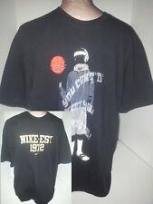 Lot of 2 Air Nike NBA Basketball Graphic T-Shirts Mens Size XL Black Cotton