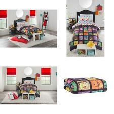 """Pokemon """"Kanto Favorites"""" 4 Piece Twin Bed in a Bag Bedding Set- Includes Comfor"""