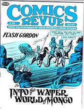 """Comics Revue Vol 1 No 39-1989-Strip Reprints- """"Flash Gordon Cover!  """""""