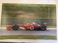 Michael Schumacher Large Signed Photograph