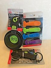 Chef Craft measuring cups & spoons & clips 14 piece set