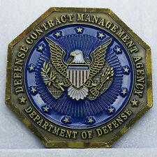 US DOD Defense Contract Management Agency Commander's Medal  Challenge Coin