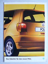 Prospekt Volkswagen VW Polo Zubehör, ca.1996, 12 Seiten