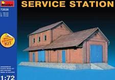 MiniArt - Diorama Werkstatt 2 Stockwerke Service Station 1:72 NEU Modell-Bausatz
