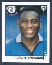 Merlin - 1996-Premier League 96 - #393 - Everton/Nigeria-Club Brugge-Daniel amokachi