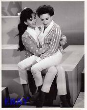Judy Garland Liza Monnelli VINTAGE Photo candid on set of CBS TV show circa 1963