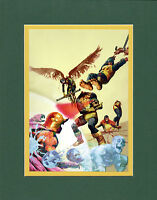 Arthur Suydam UNCANNY X-MEN #1 COVER MATTED PRINT Marvel Zombies
