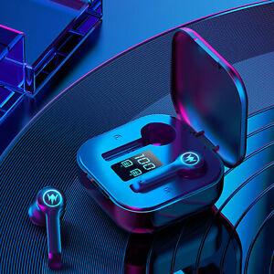 L10 Stereo Wireless Sports Bluetooth 5.1Headset W/Digital Display Touch Sport CH